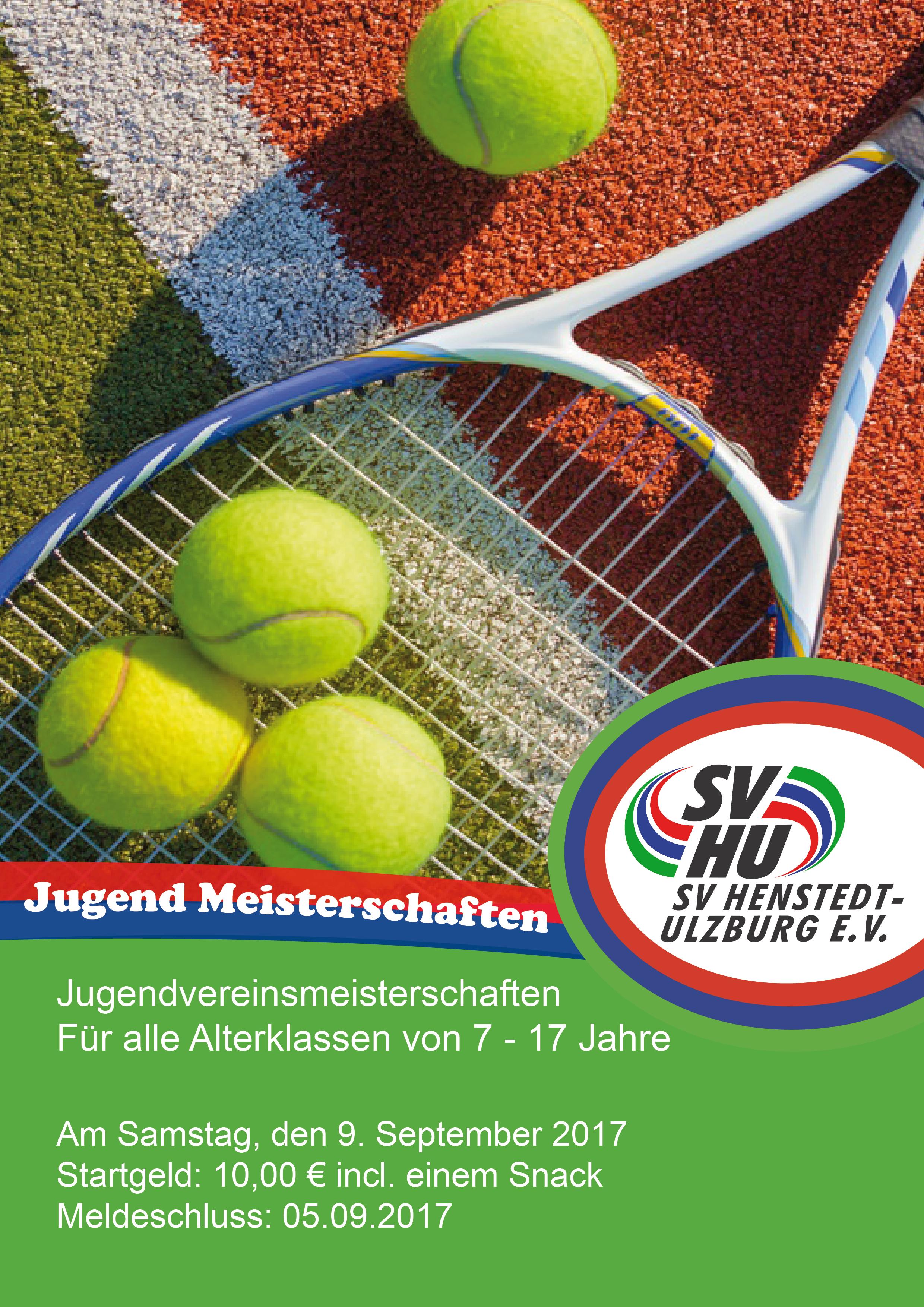jugend meisterschaften tennis sportverein henstedt. Black Bedroom Furniture Sets. Home Design Ideas