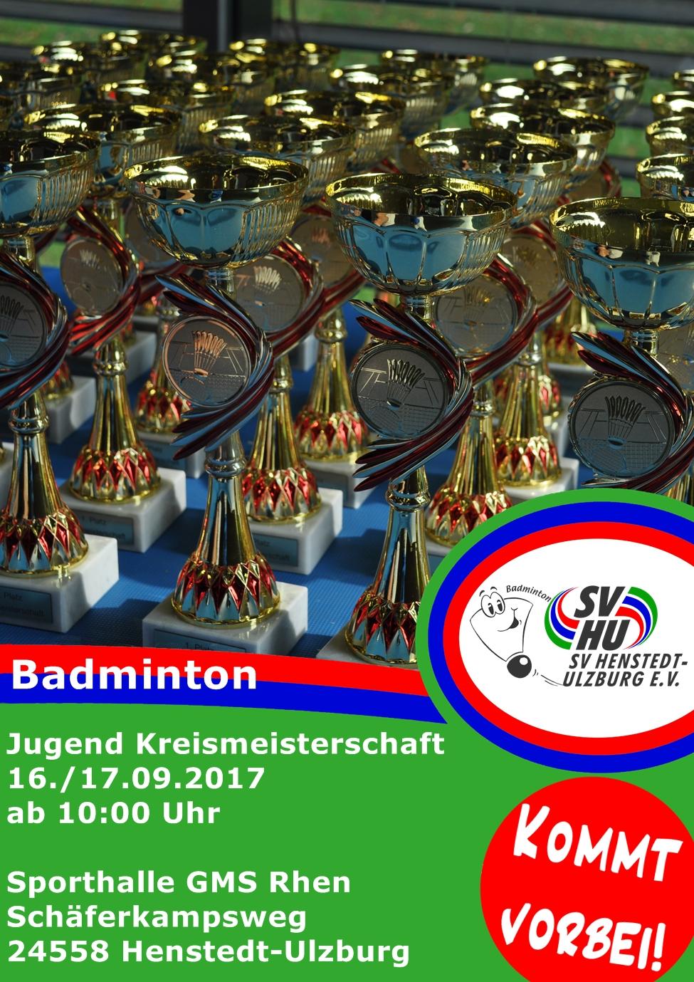 badminton jugendkreismeisterschaften sportverein. Black Bedroom Furniture Sets. Home Design Ideas
