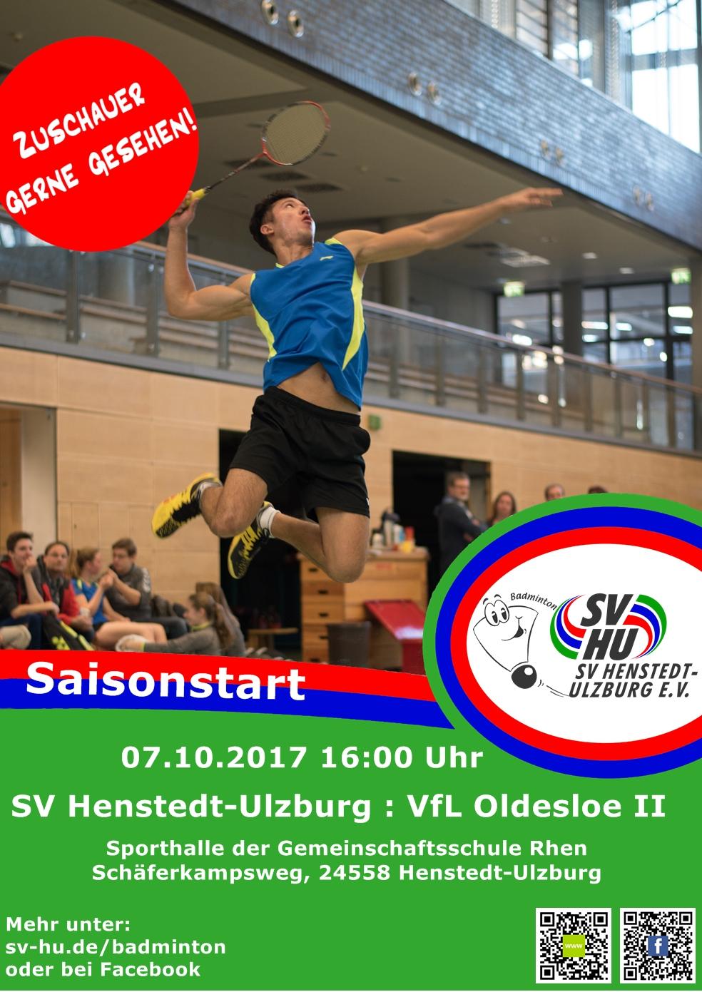 badminton saisonstart sportverein henstedt ulzburg e v. Black Bedroom Furniture Sets. Home Design Ideas